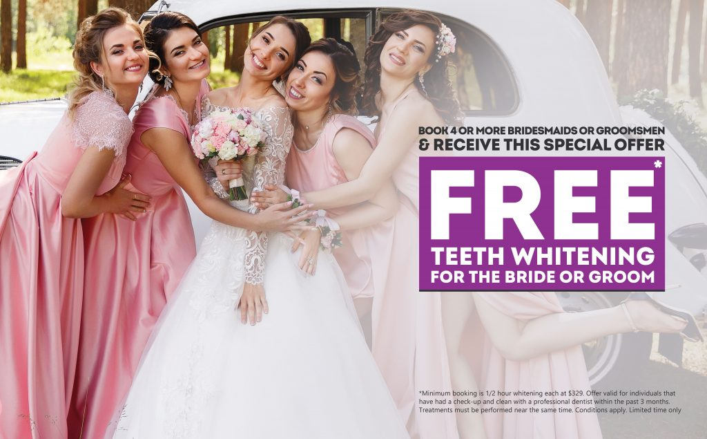 Teeth Whitening Special for Weddings